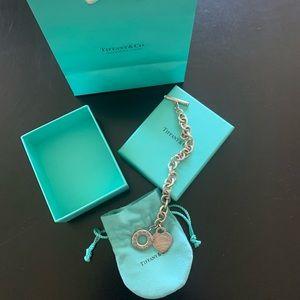 Tiffany & Co. Heart Tag Toggle Bracelet
